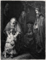 "— ""Rembrandt. Return of the Prodigal Son"", 1872"