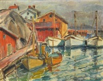 "— ""Pier. In France"", 1930th"