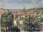 "— ""Landscape with the French Riviera"", 1930s"