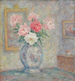 "— ""Flowers in the interior"", 1930th"