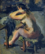 "— ""Nude by the table"", 1930s"
