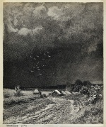 "— ""Before the Thunderstorm"", 1873"