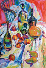 "— ""Still life with bottles"", 2008"