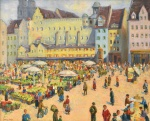 "— ""Market"", early 1940th"