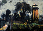 "— ""Landscape with the Tower"", 1930s"
