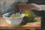 "— ""Still life with water-melon"", 1960th"