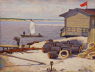 """At the pier"", 1927"