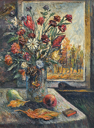 """Autumn Still Life"", 1950th"