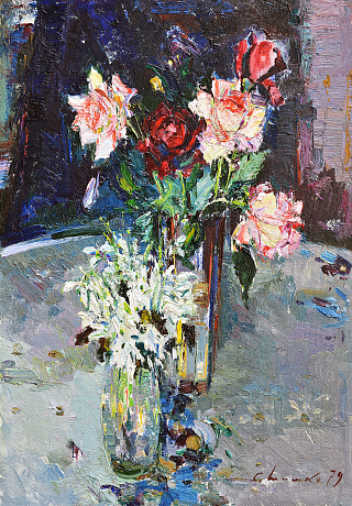 """Roses and snowdrops"", 1979"