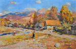 "— ""Autumn. Carpathians"", 1964"