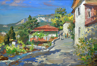 """Crimea. Old Gurzuf"", 2009"