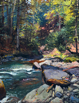 """Forest Stream"", 1948"